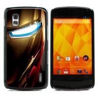 For Nexus 4 Case, Iron Man Hard Case Skin Protection Case Cover for LG Google Nexus 4 E960 (E960-1454)
