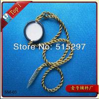 (SM-03) Free shipping high quality custom garment metal seal tag metal hang tag for high quality clothing