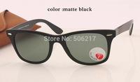 2014 Newest Super Stars Brand Sunglasses 4195 52mm 601S/9A Matte Black Men's Women's outstanding Polarized LiteForce Sunglasses