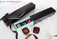 Macaron chocolate packaging box packaging box  hardcover box 1 set