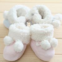 Newborn berber fleece soft sole shoes three-dimensional modeling winter boots diy material kit bear baby rabbit snow boots
