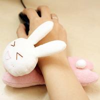 Handmade diy cloth material kit diy handmade rabbit hand rest