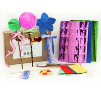 Child material kit diy puzzle magic props magic wand