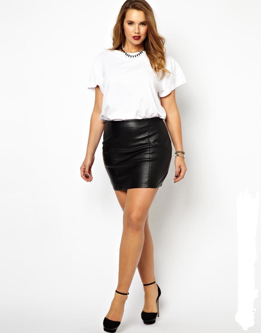 Plus Size Sexy Skirt 20