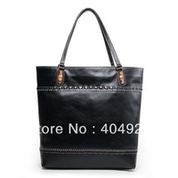 338999 2013  new  fashion women design original cow leather  handbag top quality wholesale