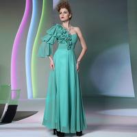 Dolly the bride evening dress fashion evening dress fashion green high grade banquet formal dress elegant