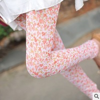 Free Shipping!!  Summer latest fashionable broken flower wholesale net yarn of pants leggings