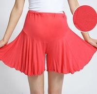 Free Shipping!!  In the summer of 2014 new maternity comfortable cotton culottes