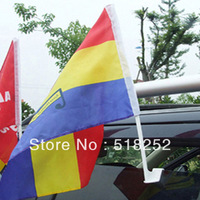custom made car flag 28x38cm, free shipping