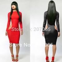 Free Shipping Bandage Dress Sexy Nightclub Size XL,XXL