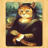 008.Cartoon cat Mouse Mat