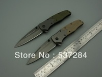3Piece/lot SOG FA02 3Cr13Mov Blade Steel+G10 Handle Tactical/Survival/Camping/Pocket Folding Knife Outdoor Hand Tools zc066