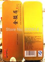 2014 New year Gold Top Class Wuyi Jin Jun Mei black tea Small Tender leaf Jinjunmei black tea Keemun Chinese Beauty, Anti- Aging