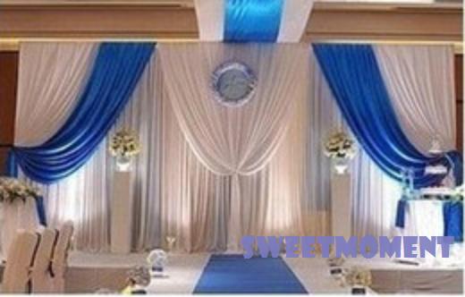 3x3m Wedding Drape for Wedding Decoration Wedding backdrop and Curtain ...