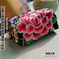 2013 handmade embroidered handbag purse portable small bag