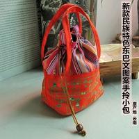 2013 cotton cloth portable small bag handbag