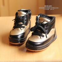 Children Korean high tide to help thicken casual warm boots