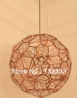 2014 Modern lighting designer Dia 40cm Tom Dixon Etch web pendant lamp light  E27 Bedroom Lighting  2 colors  free shipping