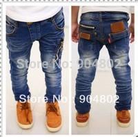 Джинсы для мальчиков High quality 2-10 years fashion cool cotton denim boys jeans brand children's long pants kids girls boys pants