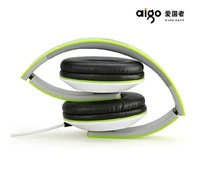 Foldable Digital Wired Headset Stereo Headsets Headphone With Bass Line/Wire Control Headband Headphones 1 PC A717 Free Shipping