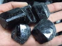 Natural black tourmaline tourmaline nunatak energy stones raw rocks nunatak Wholesale100g/lot