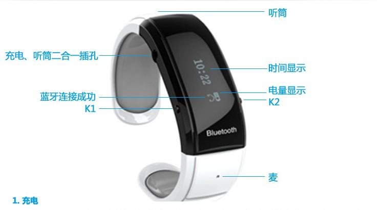 Gurtier wearable bluetooth watch telephone(China (Mainland))