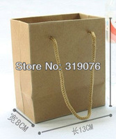 ZC-01 Factory directly sale wholesale drawstring hand bag 100pcs/lot, high quality drawstring hand gift packaging bags