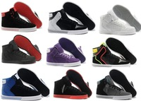 Freeshipping 2014 New Justin Bieber Shoes For Men,Men's High Top Skateboarding Shoes size US7--12