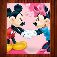 02 Cartoon Mic-key Mouse Mat
