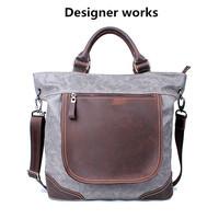 women messenger bags canvas leather bags designer vintage bag  men messenger bags free shipping