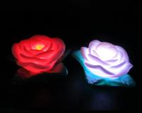 Colorful rose night flower lamp small night lamp