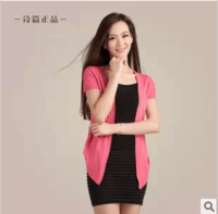 Psalter 2013 spring new arrival short-sleeve loose cardigan single-piece women's formal suit