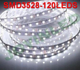 Hot sale Waterproof 600 LEDS Strip light 3528 5M/Roll 120LEDS/m DC12V RGB color(China (Mainland))