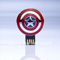 Captain America style usb flash disk 1GB 2GB 4GB 8GB 16GBusb flash drive