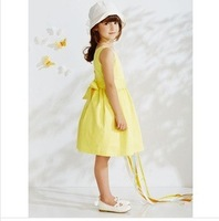 Free shipping New spring and summer 14 French original less high quality super cool dress, children's clothing wholesale trade