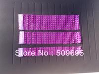 ROSE Color wedding table decoration 6 rows  rhinestone diamond napkin ring, crystal rhinestone napkin ring LE006ROSE