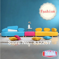 2014 Newest And Creative Lounger Sofa fashion and free combination Living room sofa set