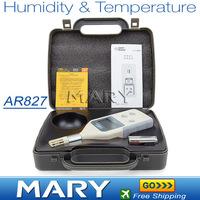 AR827 Humidity&Temperature Meter industrial precision digital hygrometer temperature and humidity detector Meter 10%RH~99%RH