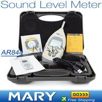 AR844 Digital Sound Level Meter noise level meter decibel meter 30~130dB