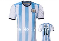 Player version A+++ quality soccer jersey of  argentina free shipping hot sale new arrival