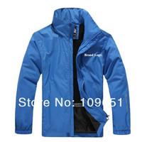 New 2013 Men outdoor Leisure Sport jackets Brand Hoodies waterproof jacket winter warm hooded jacket ,Size L-4XL,Free Shipping