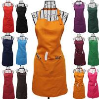 Home work wear apron aprons adjustable apron many kinds pure color