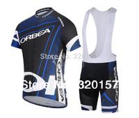 2014 Men's ORBEA sportwear Cycling Wear jersey bike wear bicycle ciclismo apparel clothing wear t-shirts jersey bib shorts set