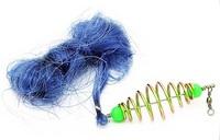New Design Copper Spring Shoal Fishing Net Netting Luminous beads Swivel fishing tackle fishing lure
