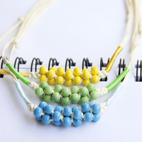 2014 new Jingdezhen ceramic necklace