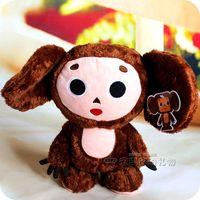 Free shipping cute Russia Cheburashka Plush Monkey 20cm soft toys for children