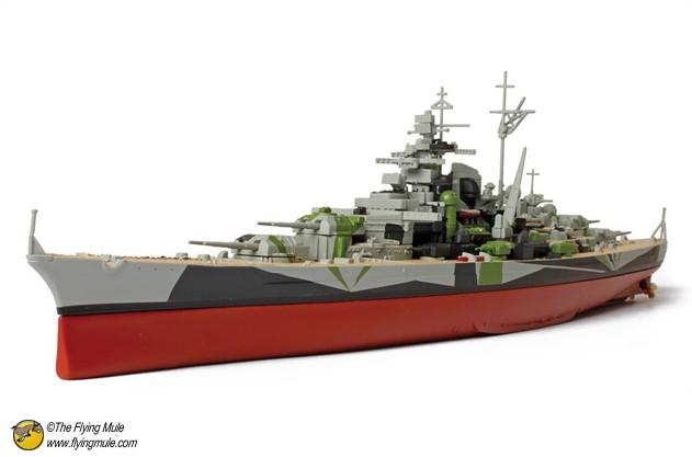 Fov 86008 1 : world war ii the german 700 tirpitz alloy model(China (Mainland))