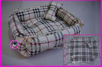 Free shipping Plaid dual - - - - - handmade pet nest pet nest kennel8 dog bed cat litter