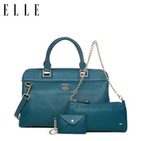 Elle women's handbag 2013 21309 women's cowhide genuine leather handbag