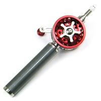 2014 na wheel refires agf60 fishing rod full metal line round fishing raft